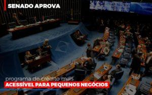 Senado Aprova Programa De Credito Mais Acessivel Para Pequenos Negocios - Contabilidade