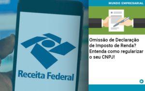 Omissao De Declaracao De Imposto De Renda Entenda Como Regularizar O Seu Cnpj - Contabilidade em Estrela - RS | ZW Contabilidade